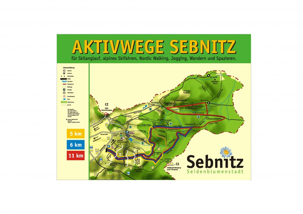 Aktivwege am Erholungsgebiet Forellenschenke Sebnitz