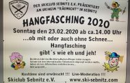 Hangfasching am 23.02.2020